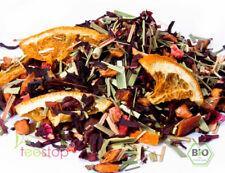100g Bio** Früchtetee Sonnentee Erdbeer Orange kba DE-ÖKO-001 -  auch als Eistee