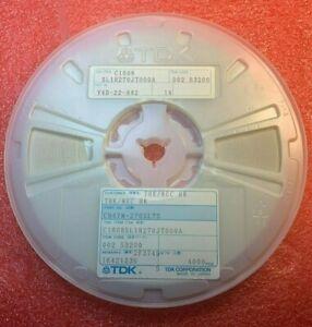 3500 x  Cap Ceramic C1608SL1H270JT000A  27pf 50v 5% 1608/0603