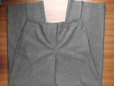 Women's Slacks/Dress Pants, wide leg pants, gray herringbone, great condition
