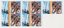 2002 Hong Kong - Cultural Diversity - Block 5 x $3 Stamps