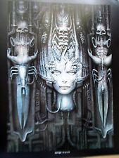 H R Giger Poster Reprint LI (woman w/skulls)  Unsigned Offset Lithograph