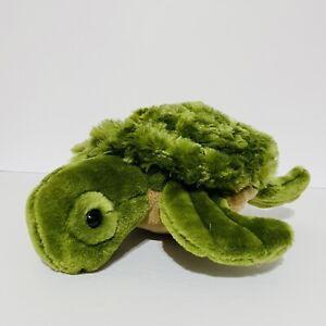 """Unipak 2015 Sea Turtle Green Sealife Ocean Reptile 12"""" Plush Stuffed Animal"""