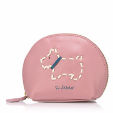 Radley London In Stitches Small Leather Coin Purse - Peony Pink