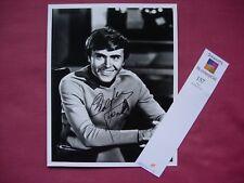 "Star Trek TOS: Walter Koenig 'Chekhov' Autographed 10"" x 8"" B&W Photograph VFN"