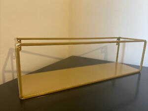 Maison Du Monde Gold Shelf