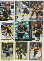 (226) card Kevin Stevens mixed lot, Pittsburgh Pengiuns legend