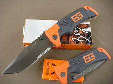 Lockback GB Knife Half Serrated Outdoor Survival Saber Sharp Camping Tools