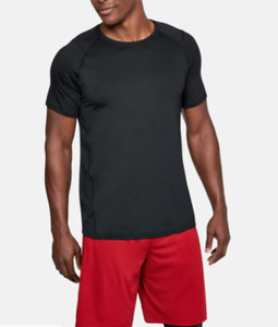 Under Armour Training Tee Mens Medium New Black Sonic 2.0 Short Sleeve Gym Crew