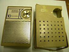 General Electric 10 Transistor Radio #P1704B Untested Parts/Repair