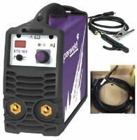 Parweld XTS163 160 Amp Inverter Arc/Tig Welder Comes With Tig torch Quick Del