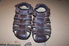 Dockers Men's RESADA Sandels Shoes Brown-Briar 90-21019 sz 8M leather,medium