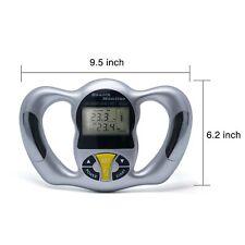 Calorie Calculator Measurement LCD Fat Analyzer Monitor Digital BMI Meter Health