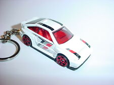 NEW 3D WHITE HONDA CRX Si CUSTOM KEYCHAIN keyring key racing BACKPACK BLING