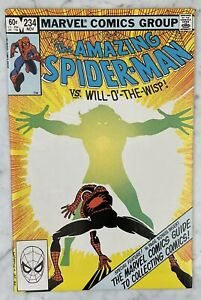 AMAZING SPIDER-MAN #234-COMPLETE MARVEL COMICS GUIDE TO COLLECTING NM+ 9.6
