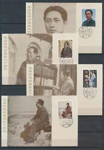 XC66726 China 1983 Mao Zedong art maxicards used