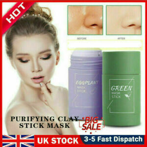 Green Tea Purifying Clay Stick Mask Anti-Acne Deep cleansing Oil control Beauty