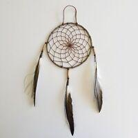 """Native American Navajo Rustic Dream Catcher Collectible 6"""""""