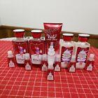 12 Pc Lot Bath & Body Works Winter Candy Apple. Shower Gel Lotion Cream Hand Gel