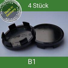 B1 schwarz  Nabenkappen  Felgendeckel  60 mm RH, Artec , Brock , RC  4 St.