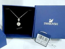 Swarovski Starlet Necklace, Heart-Shaped Clear, Lt.Rose Crystal MIB - 5007740