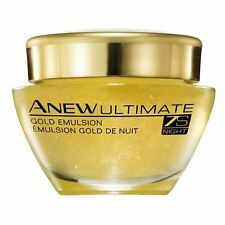 Avon Anew Ultimate 7s Night Gold Emulsion Reduce Wrinkles Anti Aging 50 ml