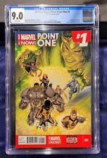 All-New Marvel Now! Point One CGC 9.0 1st Kamala Khan Ms Marvel