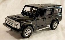 "RMZ City - 5"" Scale Model Land Rover Defender Black (BBUF555006B)"