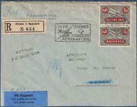 """Svizzera - 1926 - """"Schweizer Afrikaflug Zurich-Kapstad"""" - Volo Zurigo-Atene"""