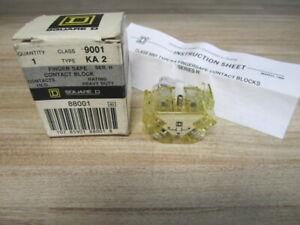 Square D 9001-KA3 Contact Block 9001KA3 Series H