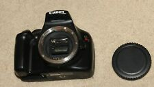 Canon EOS Rebel T3 -1100D 12.2MP Black Body - For Parts Only !