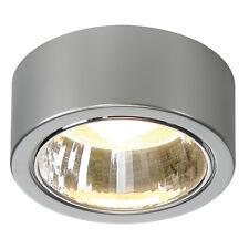 Intalite CL 101 GX53 luz de techo, redondo, gris plata, Max. 11W