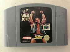 WWF WAR ZONE Nintendo 64 N64 Game UK PAL VERSION
