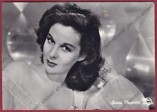 SUSAN HAYWARD 12a ATTRICE ACTRESS CINEMA MOVIE - USA Cartolina VIAGGIATA 1953