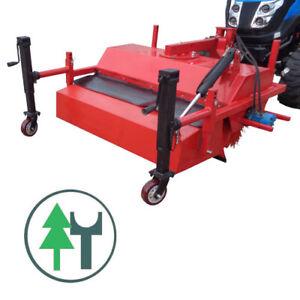 Kehrmaschine FKM115H 100 cm für Kleintraktoren Traktor Schlepper Frontanbau