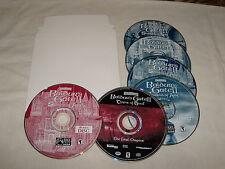 Baldur's Gate II game lot: Shadows of Amn (PC, 2000), Throne of Bhaal (PC, 2001)