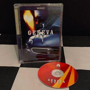 2001 GENEVA MASERATI 3200 ASSETTO 320S MEDIA PRESS INFO PACK KIT CD BROCHURE