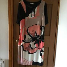 Lovely Ladies Dress Size 18 M&S Collection Black Mix BNWT