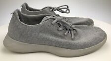 Men's 12 Light Blue/Grey Allbirds Wool Runners Sneakers Athletic Shoes Lace Up