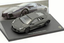 Lamborghini Reventon Año 2007 Mate Negro 1:43 Leo Models