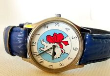 MONTRE WATCH AVENTURES TINTIN MILOU CITIME HERGE 1995  VINTAGE
