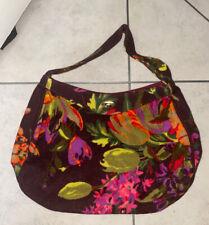 Neues AngebotPaul & Joe Floral Blume Multicolor Filz Style Handtasche