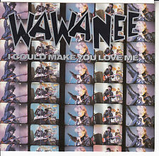 "WA WA NEE  I Could Make You Love Me PICTURE SLEEVE 7"" 45 record + juke box strip"