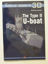 Kagero Book: The Type II U-boat - 76 pages, 160 graphics