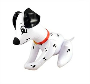 DOG BLACK AND WHITE DALMATION PET BLOW UP ANIMAL TOY  INFLATABLE