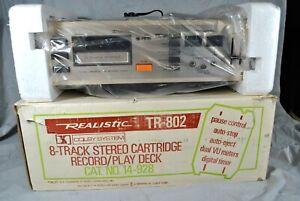 NIB Realistic TR-802 8-Track Player