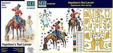 q Master Box MB3209 - Lanciere Rosso Napoleonico con vivandiera  (Scala 1/32)