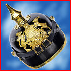 Christmas Presents Xmas Gifts German Prussian Leather Pickelhaube Helmet WW1