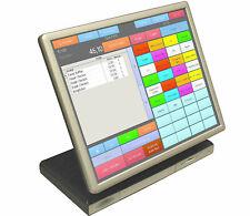 PC de muro con pantalla de MSDOS Windows 98 1ghz 512 MB 1 gb CF rs-232 LPT PARALELO