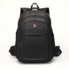 """17.3"""" Large Black Laptop Backpack with Tablet/ eReader Pocket"""