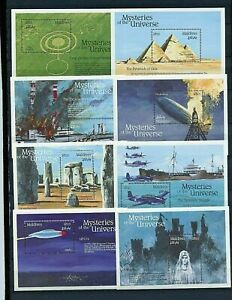 MALDIVE ISLANDS  #1757-1772 1992 MYSTERIES OF THE UNIVERSE